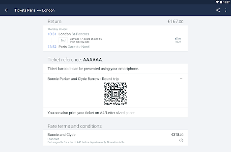 Trainline EU: Train Tickets- screenshot thumbnail