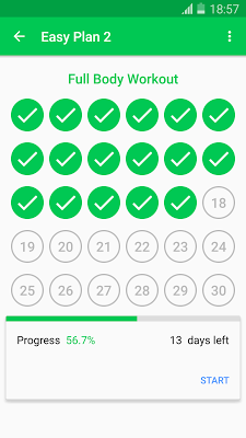 30 Day Fit Challenge Workout - screenshot