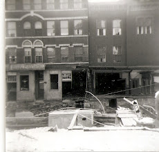 Photo: A wrecked storefront. Photo courtesy of Edward Adams Jr.