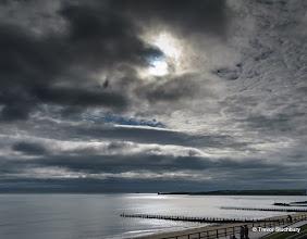 Photo: Partial Solar Eclipse, Aberdeen Beach, March 2015