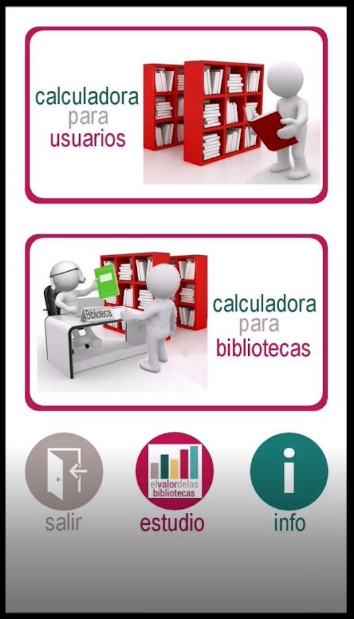 Calculadora Bibliotecas- screenshot