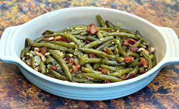 Easy Instant Pot Southern-Style Soul Food Green Beans with {VIDEO}