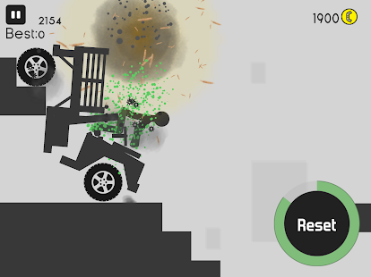 Stickman Destruction Pogo Screenshot