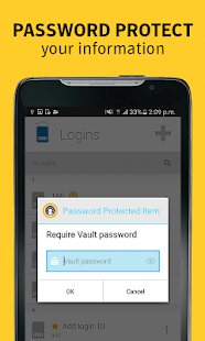 Norton Identity Safe Password Screenshot