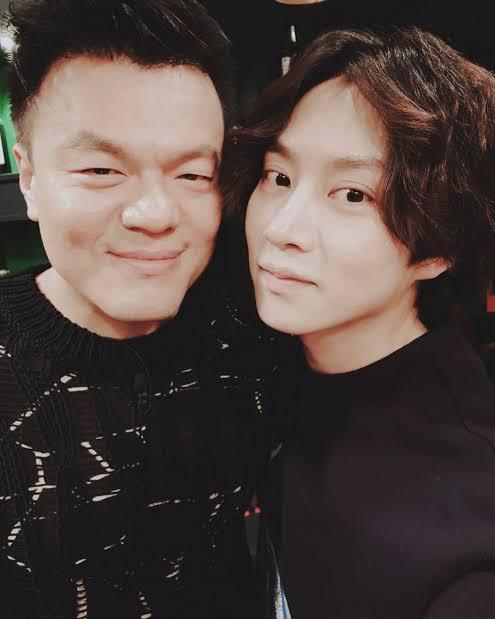 JYP and Heechul
