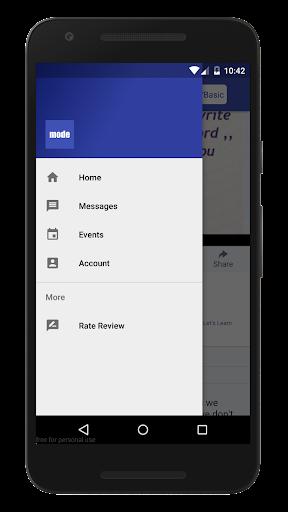 Mode for Facebook 1.2 screenshots 4