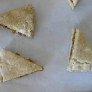 whole grain magic … Barley Marmalade Scones.