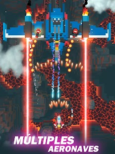 Sky Wings: Pixel Fighter 3D Screenshot