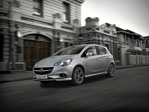 The Corsa's small size makes it relatively easy to place in the corners. Picture: SUPPLIED