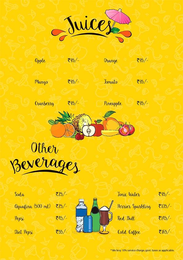 The Beer Cafe menu 11