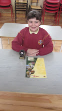 Photo: Fourth Class History Project Winner