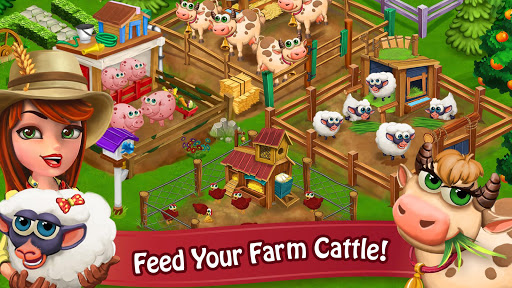 Farm Day Village Farming: Offline Games modavailable screenshots 8