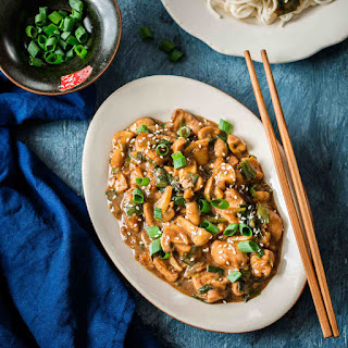 Cantonese Chicken With Mushrooms