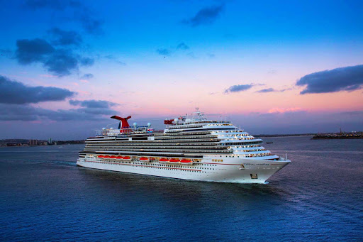 carnival-panorama-at-dusk.jpg - Sail on the 4,000-passenger Carnival Panorama, a new ship brimming with all the latest features.