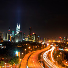 Kuala Lumpur, Malaysia by Sham ClickAddict - City,  Street & Park  Vistas