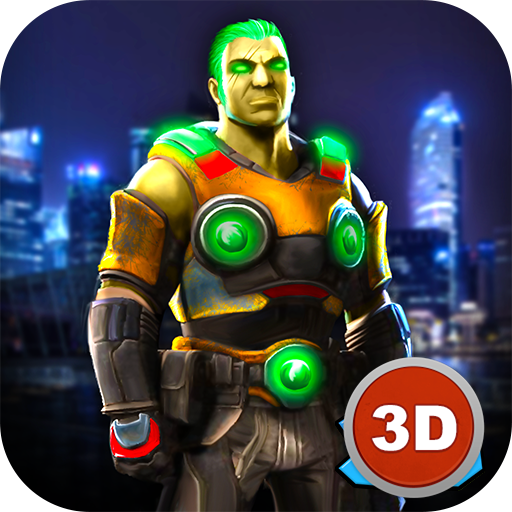 Crime City Space Gangsters vs Police Chase (game)
