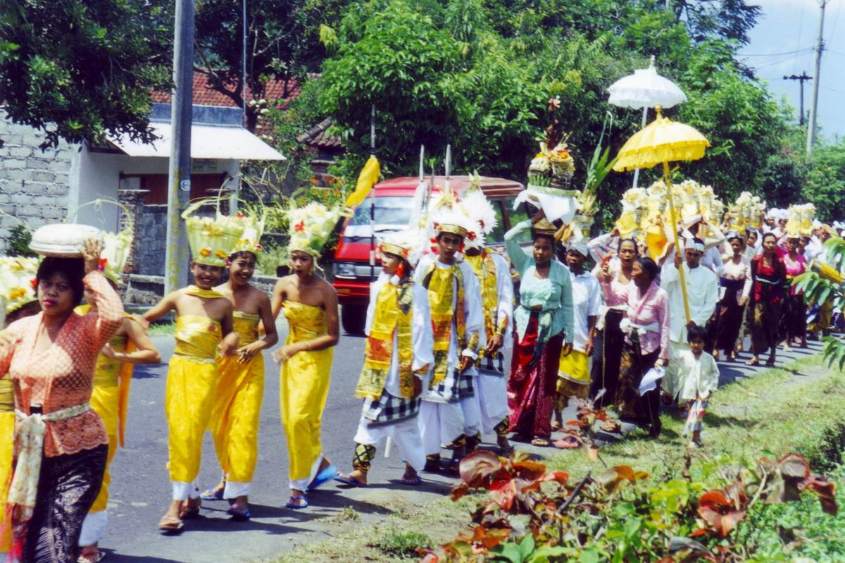 Photo: #134-Procession à Bali