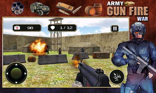 Army Gun Fire War
