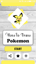 How to Draw Pokemon - screenshot thumbnail 01