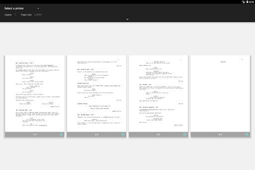 JotterPad - Writer, Screenplay, Novel 12.10.3-pi Screenshots 15