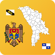 Moldova District Maps & Flags