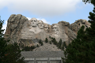 Photo: National Park #3, the Mount Rushmore National Memorial (as if you needed the introduction).