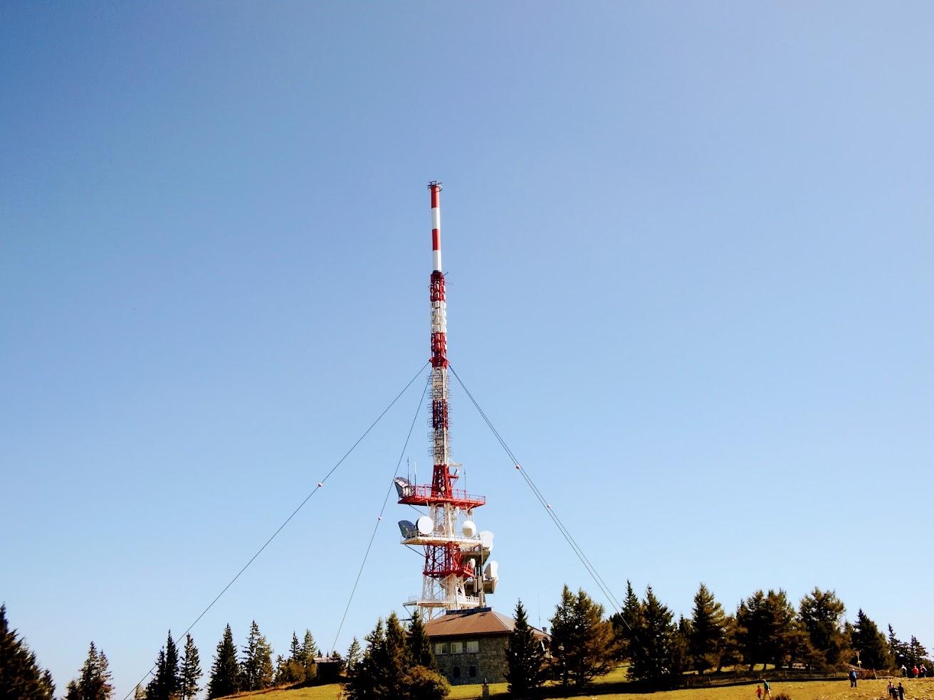 Graz 1/Schöckl - TV-URH gerincadó állomás