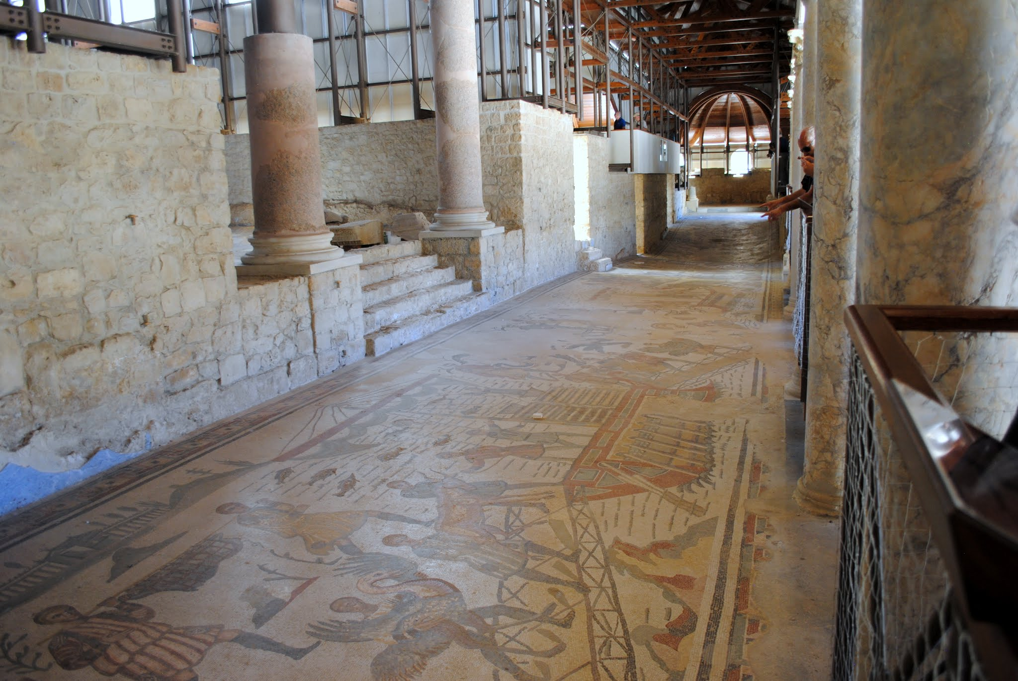 My Photos: Italy -- Mosaics -- Sicily -- Piazza Armerina -- The Hall of the Great Hunt