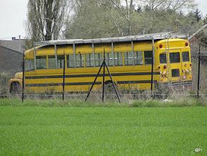 Photo: old schoolbus????