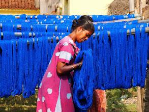 Photo: #011-Kanchipuram, Teinture