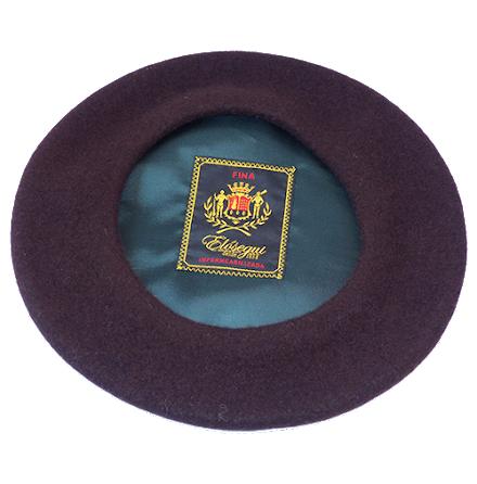 Klassisk basker, brun