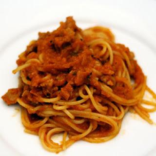 Barbecue Spaghetti.