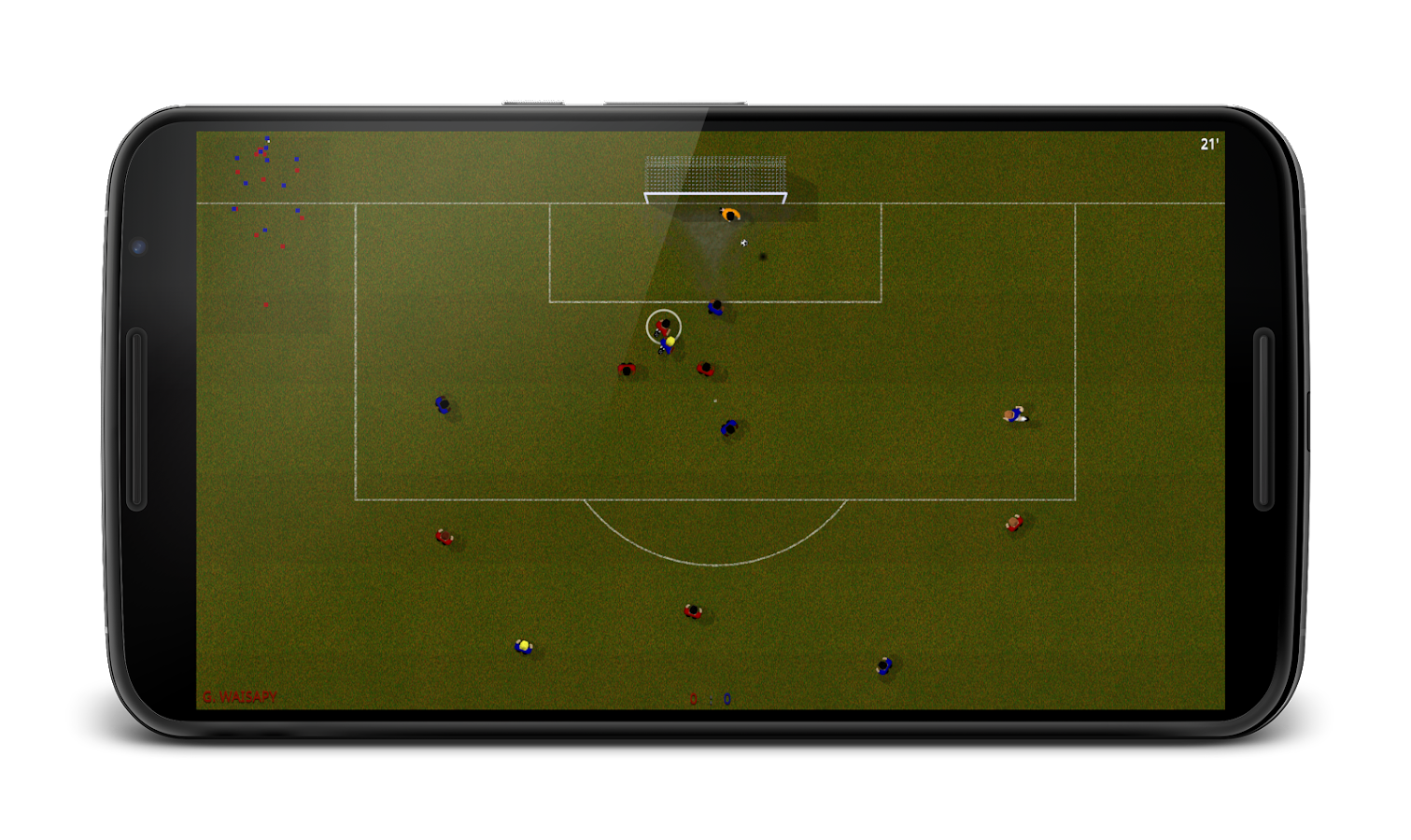 Natural Soccer- screenshot
