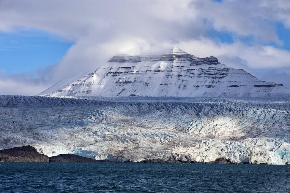 Svalbard, lodowiec