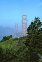 Photo: Golden Gate, pituus 2,7 km - ylitimme sillan myös kävellen