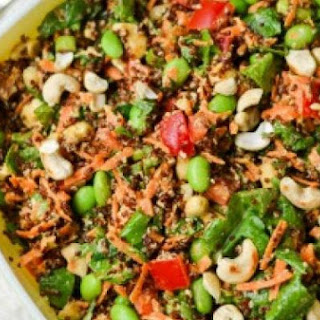 Cashew-Sesame Quinoa Salad