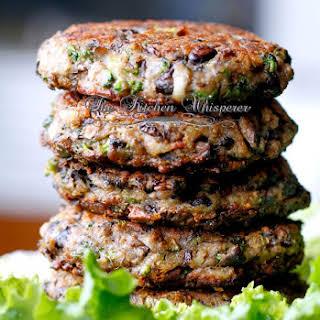 Chunky Portabella Veggie Burgers.