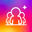 followers to up -- followers& Likes for Instagram icon