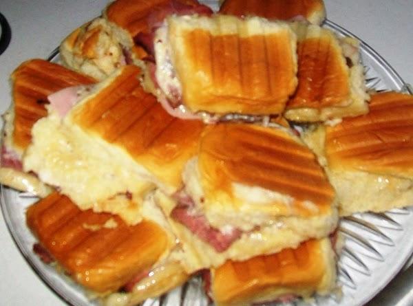 Hawaiian Panini Sliders, Oh Yeahhhhhh Recipe