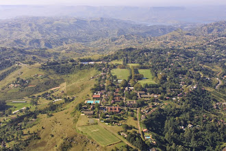 Photo: Aerial view of the Kearsney Campus