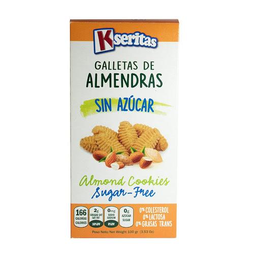 galletas sin azucar kaseritas almendra 100g Kseritas