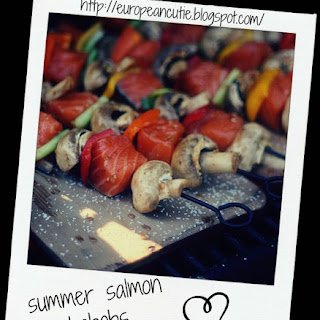 Summer Salmon Kabobs ♥ Recipe