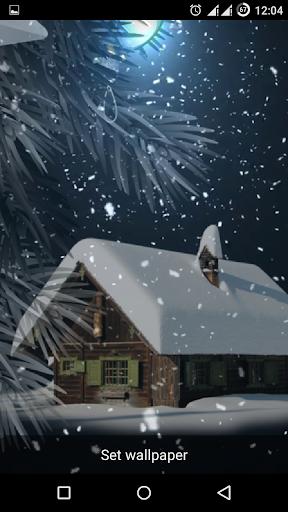 玩免費個人化APP|下載Snow Storm Live Wallpaper app不用錢|硬是要APP