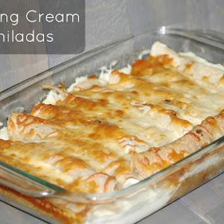 Whipping Cream Enchiladas.