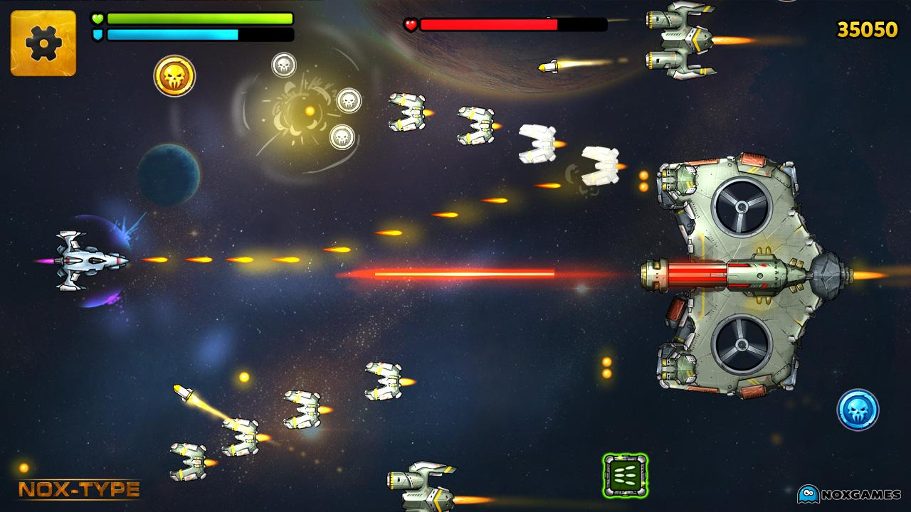 space shooter games