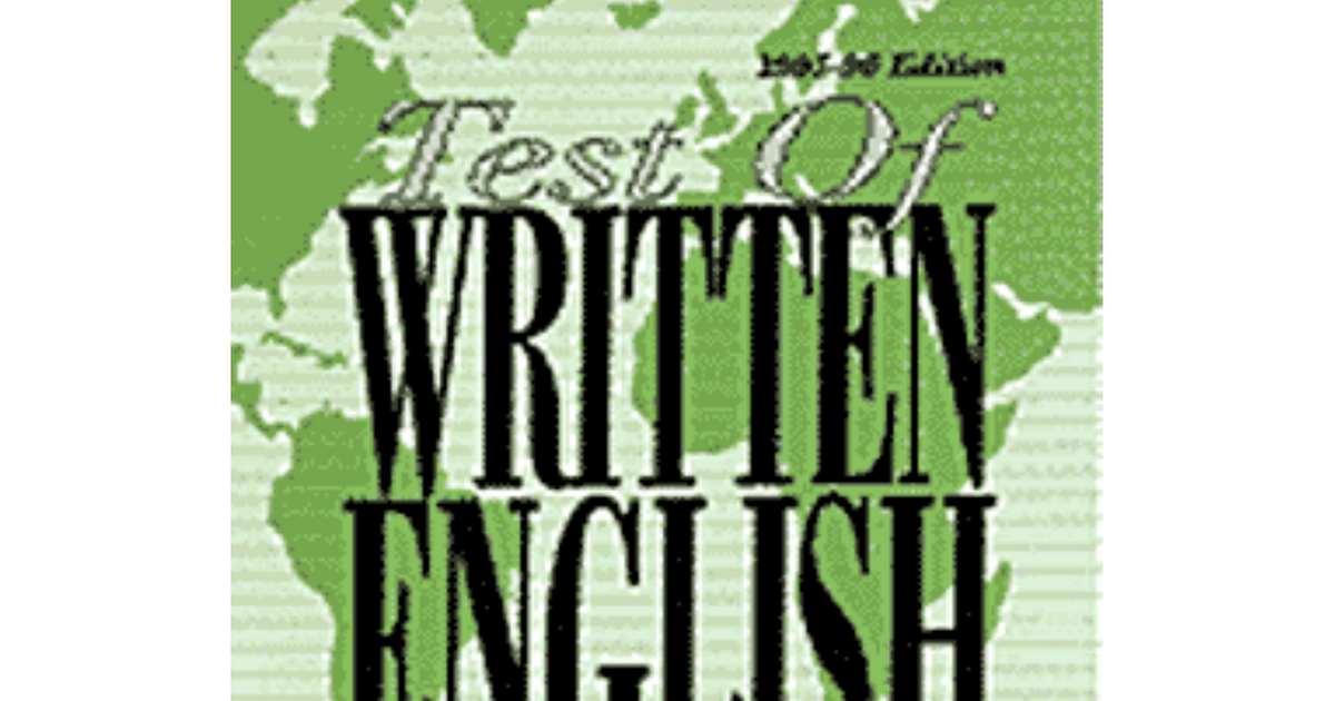 How can I find the list of writing topics of TOEFL iBT test?