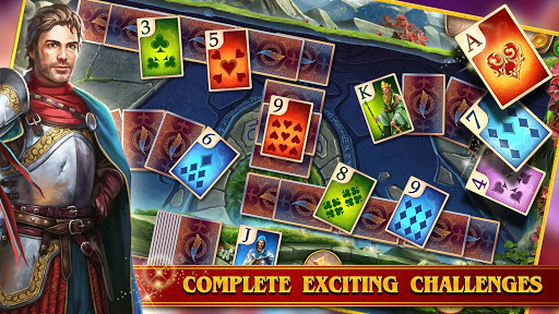 TriPeaks Solitaire Cards Queen - screenshot