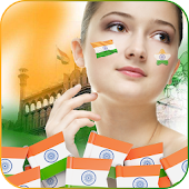 Indian Flag DP Maker Photo Frame 2018