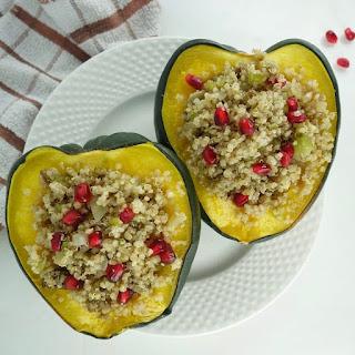 Quinoa Stuffing Acorn Squash Recipe