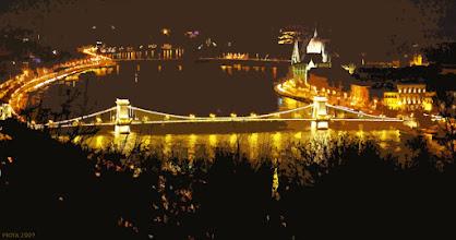 Photo: Most Łańcuchowy, Parlament, Dunaj (10 lekka izohelia)
